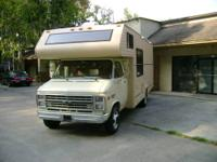 1989 23 FT CHEVY G30 JAYCO MOTOR HOME IN VERY GOOD