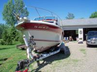 Red and white,350 Mercruiser, 350cid 260hp ,new