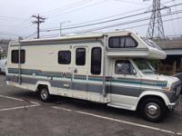 1989 Ford 26' Wini-Mini, motor home. 89,000 miles