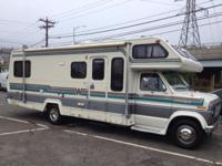 1989 Ford 26' Wini-Mini, motor home. 89,000 miles
