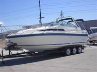 1989 27' Sea Ray Sundancer 268 Cabin Cruiser, Double