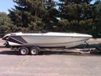 1989 Baja 240 Sport 454 Mercruiser 330 HP Bravo one,