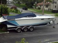 1989 Baja 280 Sport, twin 360HP 454, bravo one