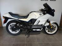 1989 BMW K100RS WITH ONLY 17175 MILES. THIS IS AN ABS