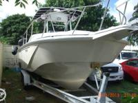 Boston Whaler Offshore Outrage 27 with a 10 Beam Center