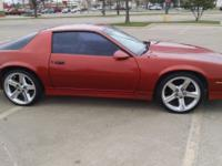 I am selling my 89 Chevy Camaro Z28 that has been