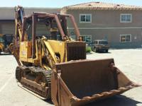 1989 Case Construction 855D Case 855D Crawler Loader