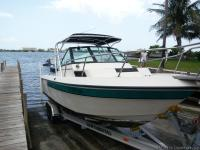 Up for sale is a 1989 chaparral 23 foot with a 250