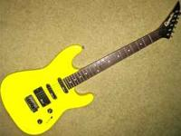1989 Charvel Charvette model 200 electric guitar!.