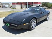 1989 Chevrolet Corvette 2dr Coupe Hatchback Our