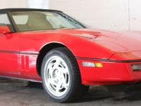 1989 CORVETTE CONVERTIBLE WITH BLACK CLOTH TOP 5.7 V8