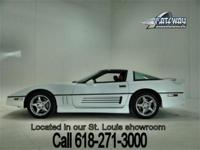 1989 Chevrolet Corvette with 24,573 actual miles! This