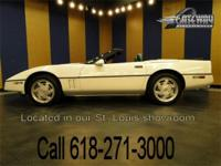 1989 Chevrolet Corvette convertible for sale! This is