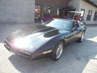 This classic Chevy Corvette is a classic! Someone took