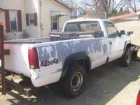 i have a 1989 chevy 3/4 ton plow truck it has a 9 foot