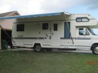 I'm selling my 1989 Class-C motorhome. Good shape, no