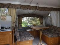 Hi, this is a 89 coleman pop up camper for sale, just
