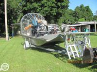 Look into this 1989 Continental 170 Airboat. She