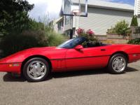 For sale is my 1989 corvette roadster with 350 TpI
