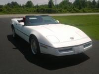 Gorgeous and well maintained 1989 Chevy corvette