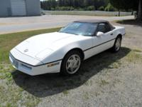 I have a 1989 Corvette Convertible which I have