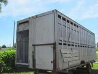 1989 Eby 22' cattle body 22' EBY cattle body full