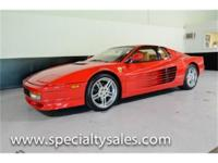 This 1989 Ferrari Testarossa (Stock # B1709) is