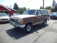 Inexpensive Ford Bronco XLT! Please call  or visit