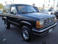 1989 Ford Bronco II. This is a great running 4 Wheel