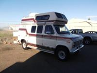 1989 Ford E-250 CoachmenFuel Injected 5.8 Liter V-8 and