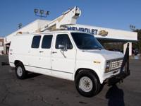BUCKET VAN THAT RUNS PERFECT JUST TUNED UP IN OUR SHOP