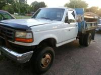 1989 Ford F-350. This 1989 Ford F-350 truck features a