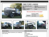 FORD LN9000 w&9N+3A 7 SPEED 0 9b}M6-Cylinder L-10