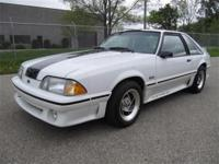 1989 FORD MUSTANG GT HATCHBACK - 5.0 V8 WITH AN
