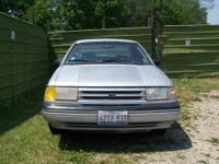 For sale-$1500 OBO- 1989 Ford Tempo. Only 117k miles,