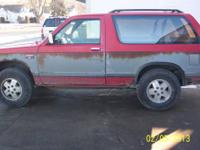 1989 GMC Jimmy Chevy Blazer 2 Door Runs Great 4x4 194k