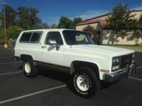 1989 GMC Jimmy SLE 4x4. She has been in CA and NV given