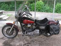 1989 Harley Davidson FLXR Conversion Low Rider With