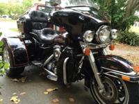 Nice Trike, only 37,000 miles, lots of chrome. New