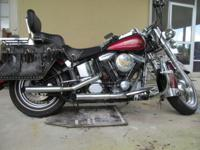 I have a 1989 Harley Davidson Heritage Softail Classic