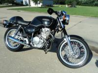 This is a very rare 2 year only motorcycle 1989 - 90. .