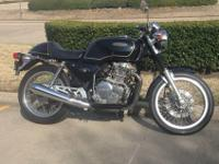 1989 HONDA GB500 Cafe RacerThis is a nice, original