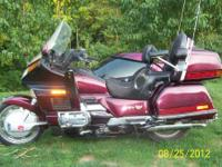 Honda Gold Wing 1500 CC 6 Cylinder 1989 With California