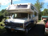 I have a 1989 class C Ford E350 with less then 36,000