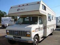 "1989 Jayco motor home class ""C"" 26' rear bed room, good"