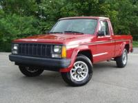 A great little work truck. This 1989 Jeep Comanche