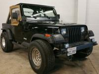 Clean Title! Great Offroad Jeep! Manual Transmission!