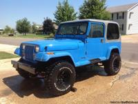 1989 Jeep Wrangler Islander edition. I have owned this