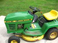 1989 John Deere Lawn Tractor STX30 New Tires Front and