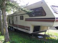 Nice big Kropft Travel Trailer to get your family down